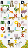 "Robert Kaufman - A To Z Animals - Sold by the Panel (23"" x 44"")"