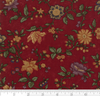 Kansas Troubles Natures Glory Floral Reproduction Red 9580 13 by Moda