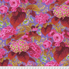 Kaffe Fassett Spring 2019 Rose and Hydrangea Hot by Free Spirit