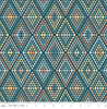 Dream Weaver Diamonds on Teal by Riley Blake | C9054 Novelty Fabrics