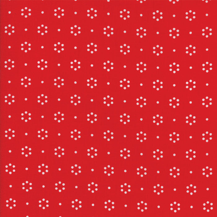 Fat Quarter - Moda Fabrics - The Good Life Red