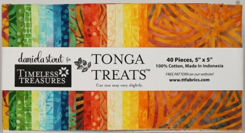 Timeless Treasures - Tonga Treat Happy Hour Charm Pack