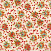 RJR Fabrics - Bordeaux Rose - Petit Bouquet-Creme by RJR Studio