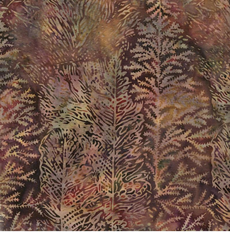 Island Batik - Rainforest - Tree Texture Batik