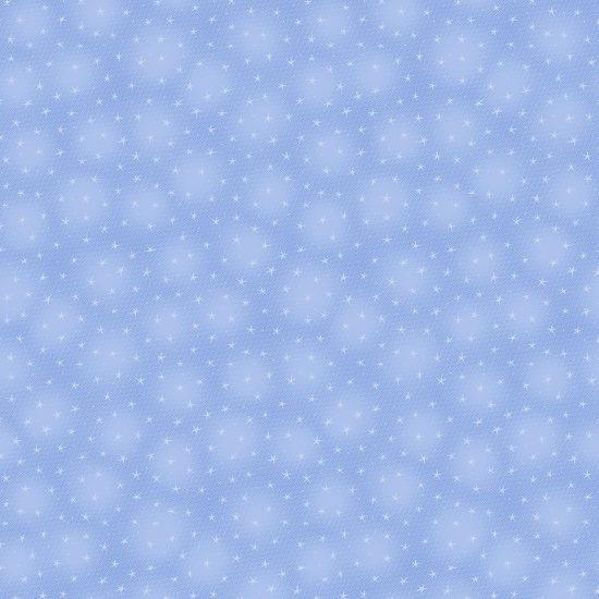 Blank Quilting: Starlet Star Sky Blue Fabric 6383-SKY | Quilting Cotton Fabric