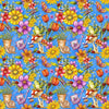 Blank Quilting - Garden Glory - Garden Allover - Blue
