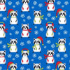 Robert Kaufman - Frosty Friends Fat Quarter Bundle by Andie Hanna - 8 FQ's