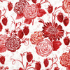 RJR Fabrics - Sugar Berry - Picnic in the Park - Radiant Cherry with Red Glitter