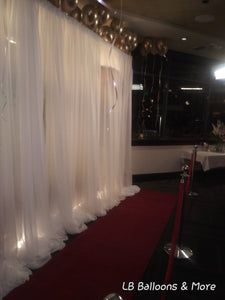 Red Carpet with Stanchions