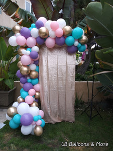 Unicorn Organic Balloon Arch
