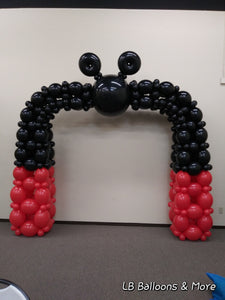 Character Theme Balloon Arch