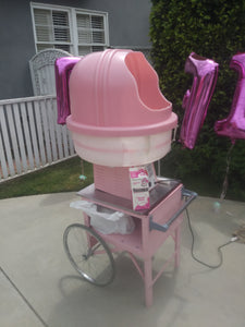 Cotton Candy Machine with Cart