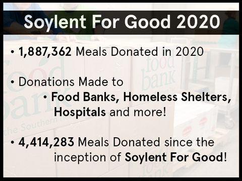 Soylent for Good 2020