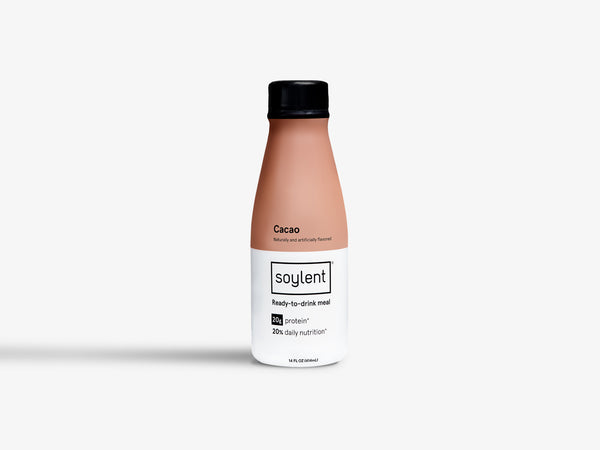 Bottle of Ready-to-Drink Cacao Soylent