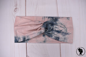 "Brushed Bubblegum Ink Tie Dye Large 4"" RTS"