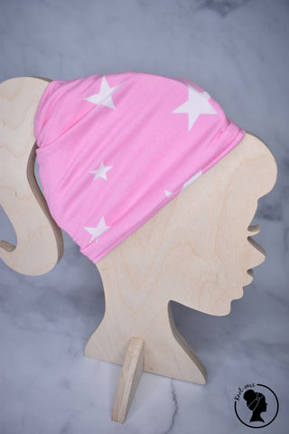 Brushed Pink Stars Large Twistem