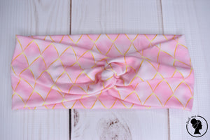 "Brushed Pink Scales Large 4"" RTS"