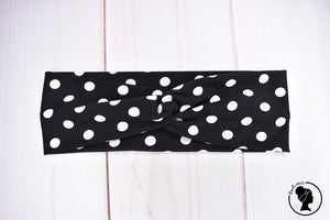 "Brushed Black Dots Large 3"" RTS"