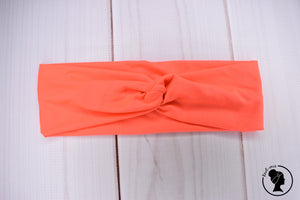 "Brushed Neon Coral Large 3"" RTS"