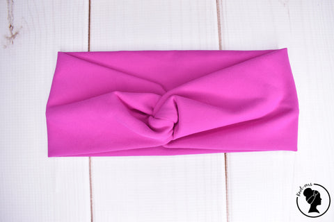 "Athletic Hot Pink Large 4"" RTS"