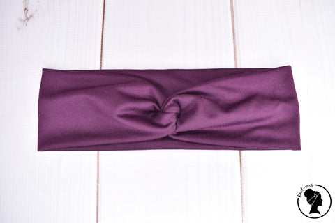 "Athletic Plum Large 3"" RTS"