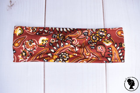 "Brushed Rusty Paisley Large 3"" RTS"