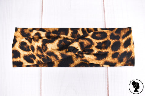 "Brushed Dark Leopard Large 3"" RTS"