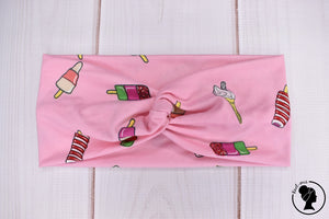 "Brushed Popsicles and Ice Cream Large 4"" RTS"