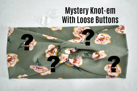 Mystery Knotem with Loose Buttons