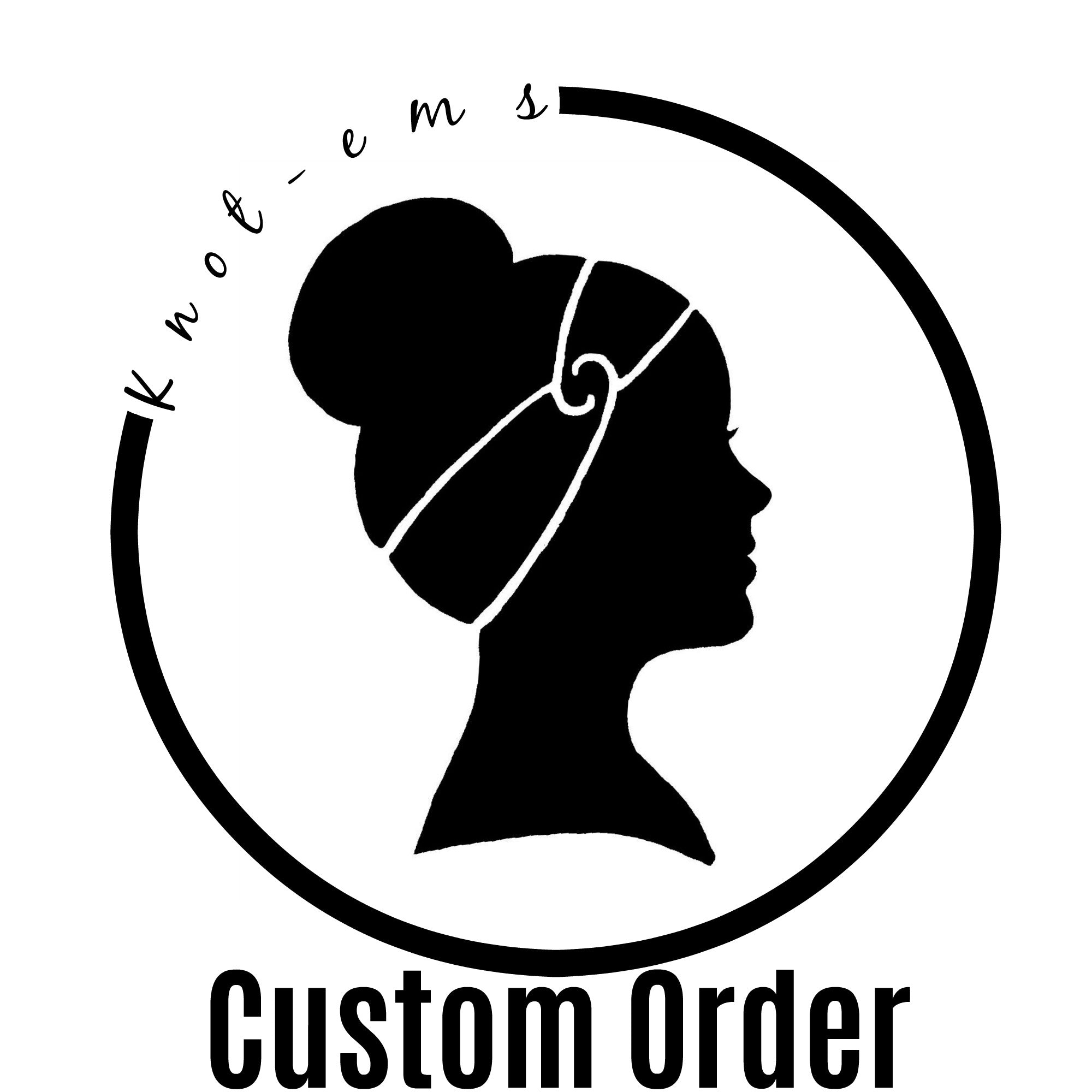 Button Custom Order - Kim Barrett
