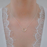 Affordable heart pendant necklace online
