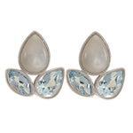 Buy - Moonstone Stud Earrings