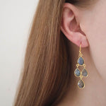 Affordable silver chandelier earrings