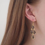 Affordable topaz earrings