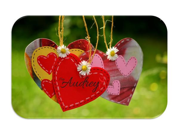 Hep Audrey Love Hearts Gift Card