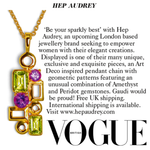 Hep Audrey Jewellery in British Vogue