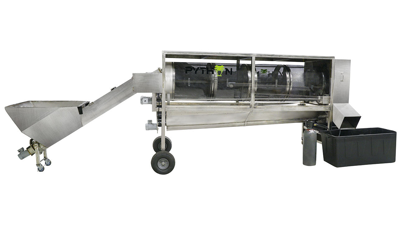 Dry Bud Trimmer Machine - Pollinator Tumbler - Resin Extraction