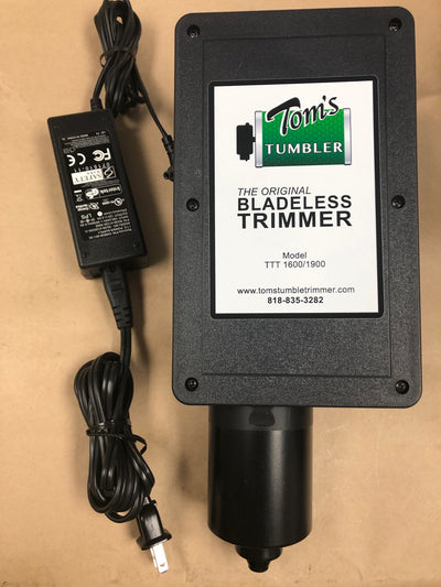 Upgrade Your TTT 1600 Handcrank- with Motor, Nets or Dust Cover - TomsTumbleTrimmer.com