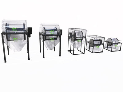 Tom's Tumbler™TTT 2600  Dry Trimmer, Separator and Pollen Extraction System - TomsTumbleTrimmer.com