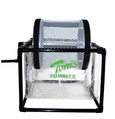 Tom's Tumbler™ TTT 1600 Hand Crank Table Top Dry Trimmer-WHOLESALE - TomsTumbleTrimmer.com