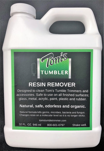 Tom's Resin Remover Cleaner-WHOLESALE - TomsTumbleTrimmer.com