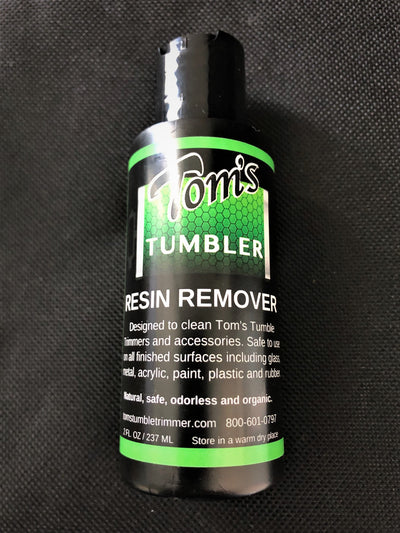 Tom's Resin Remover Cleaner - TomsTumbleTrimmer.com