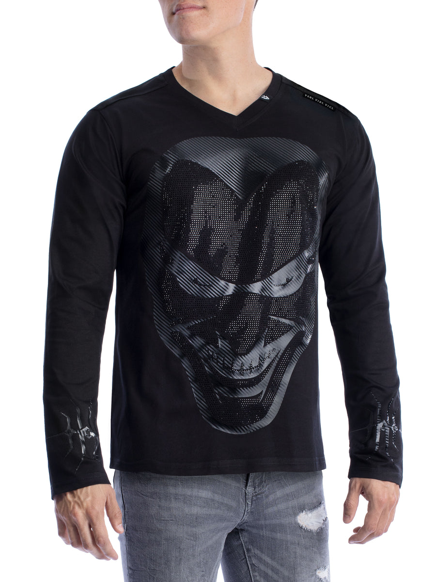 VVV HeeBad Men's Long Sleeve V-Neck
