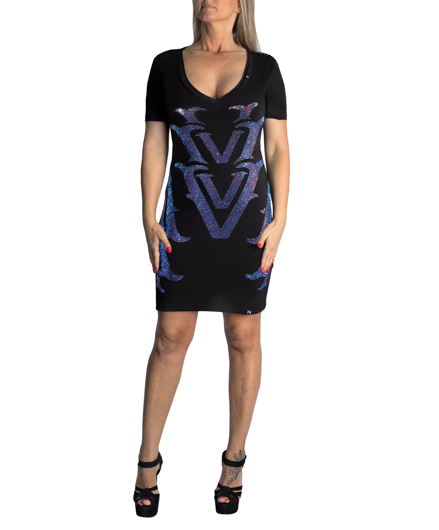 VVV Woman's Dress V-Neck
