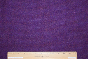 Haute New York Designer Wool  Bouclé - Purple Tones - AS IS
