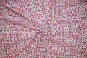French Couture Bouclé - Pinks