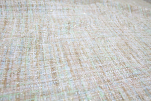 Almost 1 yard of French Couture Bouclé - Spring Pastels