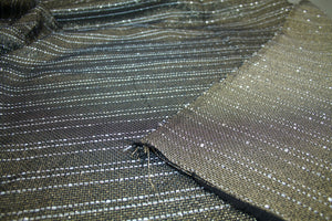 NY Designer Holiday Sequined Novelty - Gold/Silver/Black