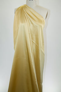 NY Designer Silk Charmeuse - Golden