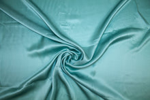 3/4 yard of NY Designer Silk Charmeuse - Ocean Mist